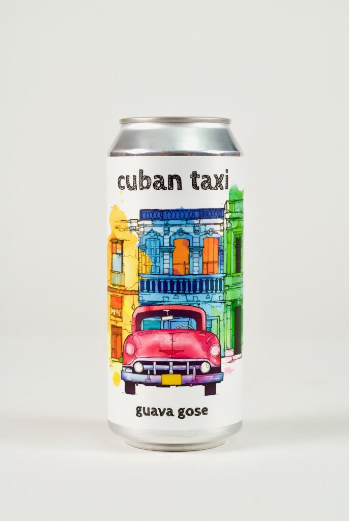 Cuban Taxi Guava Gose Beer