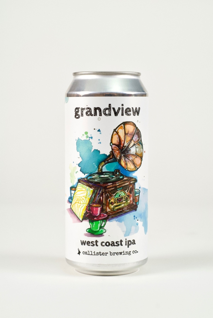 Grandview IPA in a can
