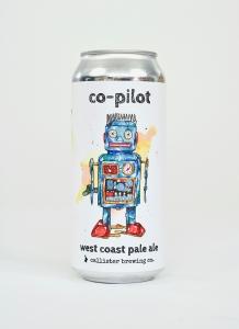 Co-Pilot West Coast Pale Ale in a can