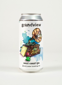 Grandview West Coast IPA in a can