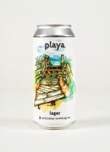 Playa Larger in a can