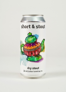 Short and Stout Dry Stout in a can