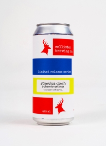 Stimulus Czech Pilsner in a can