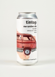 Tintop Amber Ale in a can