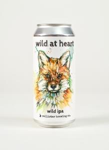 Wild at Heart Wild IPA can