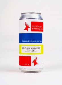 Amadeus Lager in a can